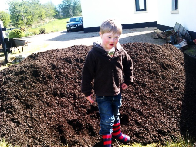 The compost Arrives